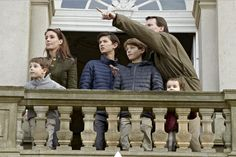 Prince Joachim, Princess Marie and the kids attended the Hubertus Hunt in Copenhagenn 11/1/2014