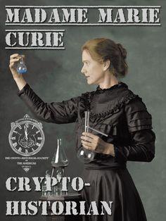 marie curie steampunk - Google Search