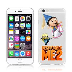 Despicable Me Yellow Minion Design Case cover For iphone 6 4.7 inch - free shipping worldwide