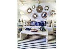 Los espejos dan luminosidad y amplitud y se adaptan a cualquier lugar de la casa. Mira como hacer detalles con espejos para decorar tu hogar.