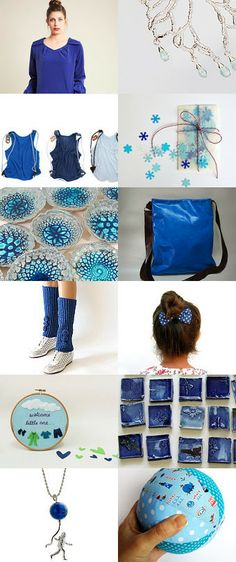 blue winter by danielle keller on Etsy--Pinned with TreasuryPin.com