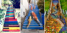 Unique staircases around the world