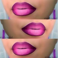 Try using Younique Pompous Lip liner, Pristine for the middle and create the ombre using Younique's lip stain Love Makeup, Beauty Makeup, Younique Lip Stain, Khol Eyeliner, Lip Makeup Tutorial, Ombre Lips, Pink Lips, Dark Skin Makeup, Perfect Lips