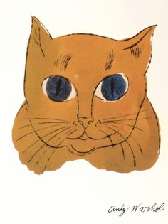 Andy Warhol (1928-1987), Yellow Cat.