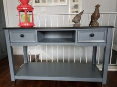 Door Furniture, Furniture Refinishing, Kitchen Cart, Entryway Tables, Doors, Red, Home Decor, Decoration Home, Room Decor