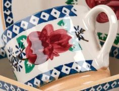 Our Large Mugs are among the most versatile of our kitchen pottery pieces. The variety of uses continue to amaze! Gift to a loved one as a gesture of appreciation or use to share hot cocoa with friends on a cold winter's day – these mugs can do it all. Irish Pottery, Pottery Making, Cocoa, Bowls, Appreciation, Tea Cups, Shapes, Mugs, Patterns
