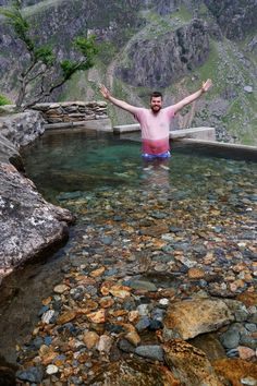 The secret 'infinity pool' in the hills of Snowdonia that some people don't want you to know about - North Wales Live Places To Visit Uk, Beautiful Places To Visit, Places To Travel, Wales Snowdonia, Anglesey Wales, British Travel, Travel Uk, Walking Routes, Ireland Travel