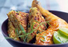 Cuisse de poulet farcieVoir la recette de la Cuisse de poulet farcie >>