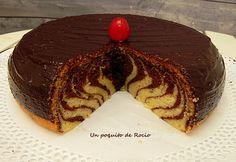 UN POQUITO DE ROCIO: ZEBRA CAKE