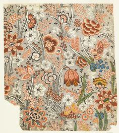 Print, Design for Printed Textile, ca. 1759–1815