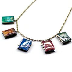 Percy Jackson Series Book Locket by CraftingCall on Etsy Download Bookling