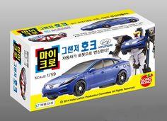 Hello Carbot Micro Grandeur Hawk Transforming Toy Robot TV Animation 1:59 scale #SONOKONG