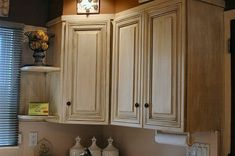 Rustoleum kit for cabinets...i am so doing this!