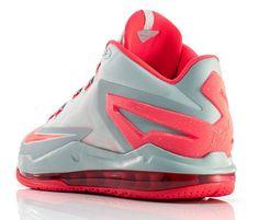 official photos a1864 c37ce Nike LeBron 11 Low, Laser Crimson.