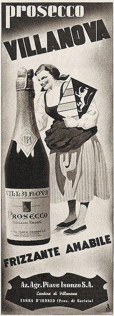 prosecco Villanova by VINTAGE AD, via Flickr