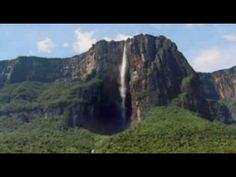 Amazing video of Angel Falls in Venezuela (world's tallest waterfall).