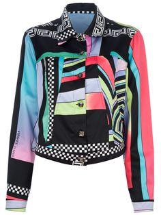 VERSACE VINTAGE - Print Jacket