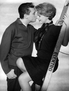 Peter Weck und Cornelia Froboess