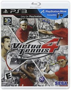 cool Virtua Tennis 4 - Playstation 3  Virtua Tennis 4 (PS3)  Virtua Tennis 4 is a tennis simulation game featuring 22 of the current top male and female players from the ATP and WTA tennis... http://gameclone.com.au/games/sports/virtua-tennis-4-playstation-3/