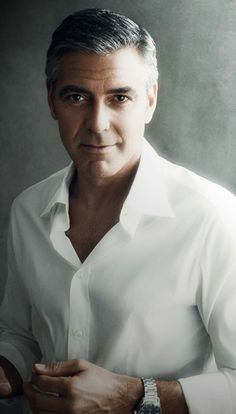 George Clooney is a handsome man