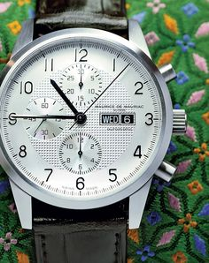 Bespoke watches from Maurice de Mauriac. Luxury Swiss watches for men and women.