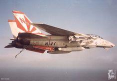 Navy Marine, Us Marine Corps, Us Navy Aircraft, Military Aircraft, Tomcat F14, Uss Enterprise Cvn 65, Aircraft Painting, Military Photos, Aviation Art