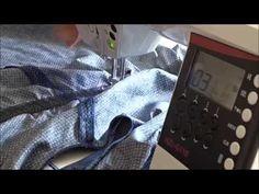 Comment coudre un élastique fronceur ? - YouTube Techniques Couture, Sewing Techniques, Smocks, Office Phone, Landline Phone, Voici, Pose, Photos, Diy