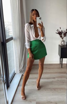 Cute Casual Outfits, Chic Outfits, Fashion Outfits, Fashion Ideas, Fashion Trends, Mode Outfits, Night Outfits, Summer Date Night Outfit, Hot Day Outfit