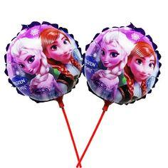 """Balão metalizado Frozen 8,5"""" (18 cm)"""