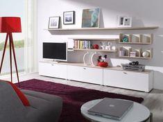 Meble Living – zestaw 3 Decoration, Corner Desk, Police, Bookcase, Shelves, Living Room, Interior Design, Furniture, Home Decor