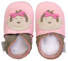 Cute Girl Monkey Booties