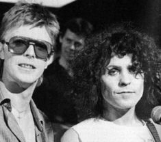David Bowie and Marc Bolan