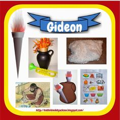 Old Testament Book Lesson 39 -Gideon Bible Story Crafts, Bible School Crafts, Bible Stories For Kids, Bible Crafts For Kids, Bible Lessons For Kids, Sunday School Crafts, Kids Bible, Scripture Crafts, Kids Sunday School Lessons