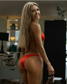 Kate Usmanova Flaunting Almost Nude Butt