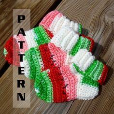 Crochet Pattern Central – Free Slipper And Sock Crochet Pattern