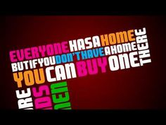 """This video was my first Adobe AE project. It's the kinetic typography version of the wonderful song """"Ikea"""" by Jonathan Coulton."""