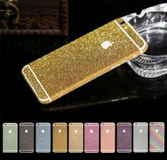 Luxury Bling Crystal Diamond Screen Protector Film Case For iPhone 6 Plus 5.5'' #UnbrandedGeneric