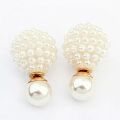 bks accessories two sided earrings