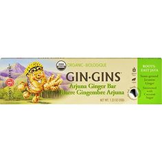 Ginger People Gin Gins Bar - Organic - Arjuna Ginger - oz - Case of 16 - Gluten Free - Vegan - Perfect for a quick boost Best Breakfast Cereal, How To Make Breakfast, The Ginger People, Gin Bar, Star Wars, Cereal Bars, Thing 1, Organic Vegetables, Coconut Sugar