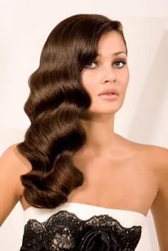 Old Hollywood hair - now that I have a deep waver I wonder if I can recreate this....