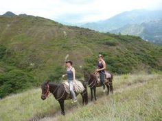 Ecuador, Vilcabamba, Holger Horses tour