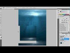 how to make Underwater Scene - Photoshop tutorial (9) - YouTube