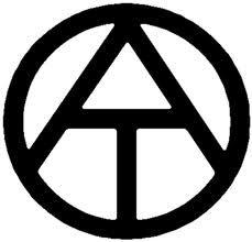 Símbolo Ateo Universal Original. Creado en asamblea virtual en el año 2000 por CyberAteos. http://i.oc.gs/tajoe  Original Universal Atheist Symbol created in a virtual assembly in the year 2000 by CyberAteos. http://i.oc.gs/tajoe