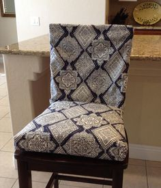 Fitted Seat Cushion Cover With Piping Andbrittaleighdesigns Impressive Dining Room Chair Seat Pads 2018