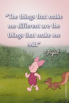 These Winnie The Pooh Quotes Will Make You Think, Think, Think Pooh And Piglet Quotes, Piglet Winnie The Pooh, Winnie The Pooh Friends, Pooh Bear, Eeyore, Cute Disney Quotes, Cute Quotes, Beautiful Disney Quotes, Badass Quotes