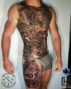Tattoo homo fetish and ball cream flow