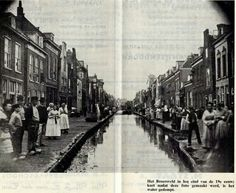 Broersveld eind 19e eeuw. Kort na deze foto werd het gedempt