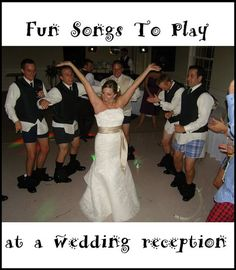 Must be real fun, I think they are losing their pants! LOL Fun songs to play at a wedding reception  photo by http://www.flickr.com/photos/bradleypjohnson/