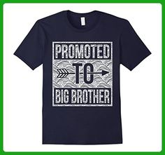 Mens Promoted To Big Brother shirt Medium Navy - Relatives and family shirts (*Amazon Partner-Link)