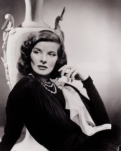 """KATHARINE HEPBURN. Born: May 12, 1907 in Connecticut, USA. Died: June 29, 2003 from natural causes (aged 96). She won her first Oscar for """"Morning Glory"""" (1933). """"Little Women"""" (1933) was the most successful picture of its day.Starred in """"The Philadelphia Story"""" (1940). Paired with Spencer Tracy in """"Woman of the Year"""" (1942), the screen-partnership spanned 25 years & 9 films. Won Oscars for; """"Guess Who's Coming to Dinner"""" (1967), """"The Lion in Winter"""" (1968) & """"On Golden Pond"""" (1981)."""